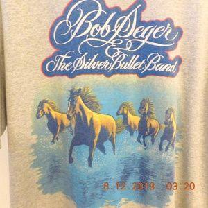 VTG Bob Seger 1980 Tour The Wind Concert T Shirt